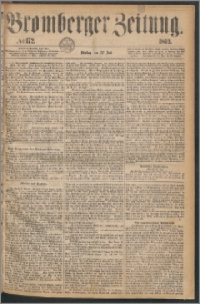 Bromberger Zeitung, 1869, nr 172