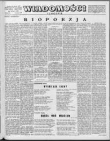 Wiadomości, R. 12 nr 31 (592), 1957
