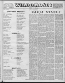 Wiadomości, R. 12 nr 32 (593), 1957