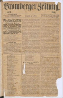 Bromberger Zeitung, 1870, nr 1