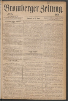 Bromberger Zeitung, 1870, nr 18