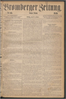 Bromberger Zeitung, 1870, nr 43