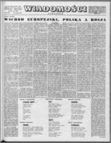 Wiadomości, R. 12 nr 39 (600), 1957
