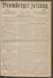 Bromberger Zeitung, 1870, nr 72