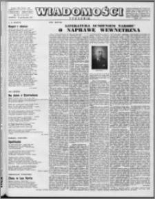 Wiadomości, R. 12 nr 42 (603), 1957