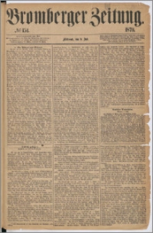 Bromberger Zeitung, 1870, nr 154