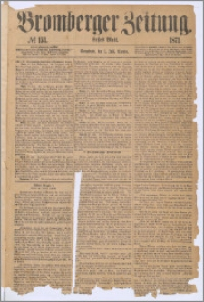 Bromberger Zeitung, 1871, nr 153