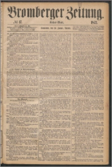 Bromberger Zeitung, 1872, nr 17