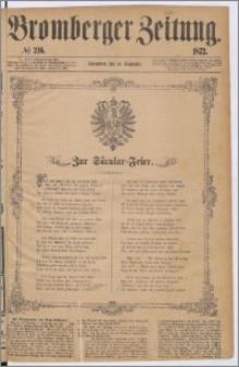 Bromberger Zeitung, 1872, nr 216
