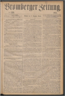 Bromberger Zeitung, 1872, nr 273