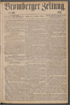 Bromberger Zeitung, 1872, nr 275