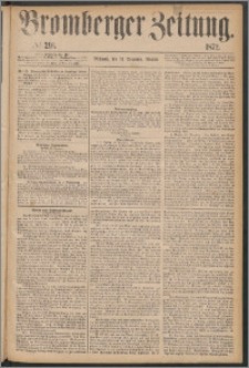 Bromberger Zeitung, 1872, nr 291