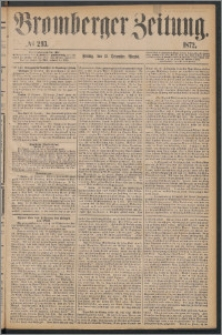 Bromberger Zeitung, 1872, nr 293