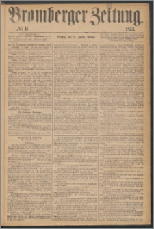 Bromberger Zeitung, 1873, nr 11