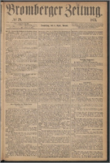 Bromberger Zeitung, 1873, nr 79
