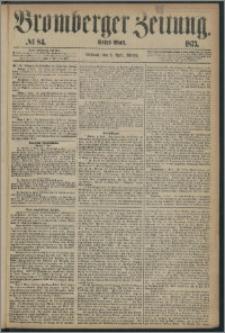 Bromberger Zeitung, 1873, nr 84