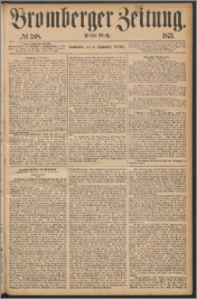 Bromberger Zeitung, 1873, nr 208