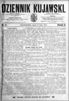 Dziennik Kujawski 1894.02.23 R.2 nr 43