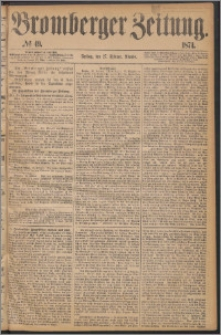Bromberger Zeitung, 1874, nr 49