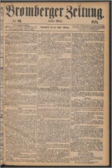 Bromberger Zeitung, 1874, nr 96