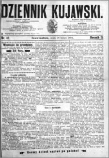 Dziennik Kujawski 1894.02.28 R.2 nr 47