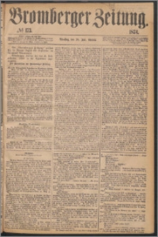 Bromberger Zeitung, 1874, nr 173