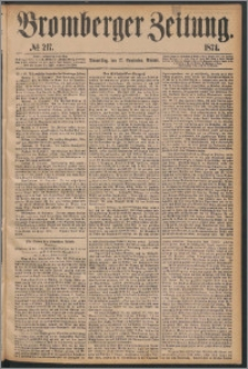 Bromberger Zeitung, 1874, nr 217
