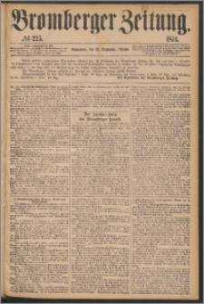 Bromberger Zeitung, 1874, nr 225
