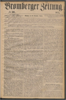 Bromberger Zeitung, 1874, nr 305