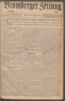 Bromberger Zeitung, 1875, nr 220