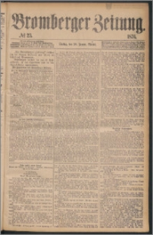 Bromberger Zeitung, 1876, nr 23