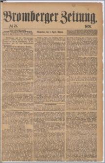 Bromberger Zeitung, 1876, nr 78