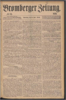 Bromberger Zeitung, 1876, nr 92