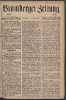 Bromberger Zeitung, 1876, nr 94