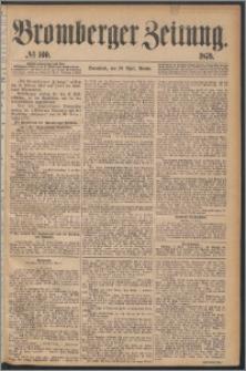 Bromberger Zeitung, 1876, nr 100