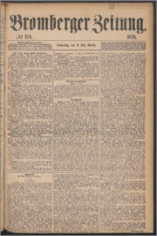 Bromberger Zeitung, 1876, nr 109