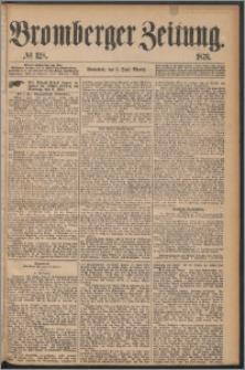 Bromberger Zeitung, 1876, nr 128