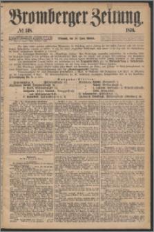 Bromberger Zeitung, 1876, nr 148