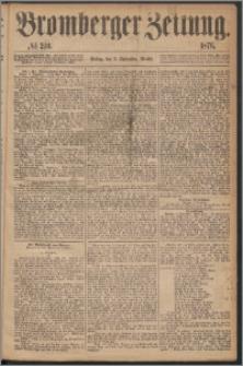 Bromberger Zeitung, 1876, nr 210