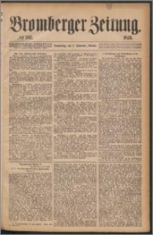 Bromberger Zeitung, 1876, nr 263