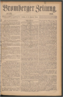 Bromberger Zeitung, 1876, nr 273