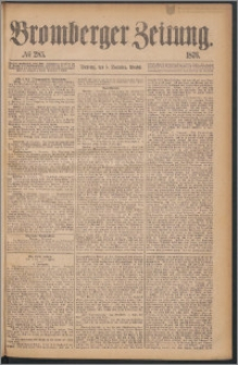Bromberger Zeitung, 1876, nr 285