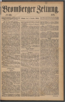Bromberger Zeitung, 1876, nr 292