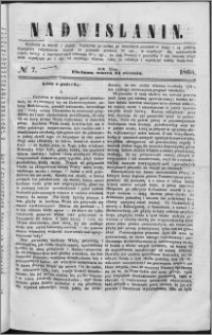 Nadwiślanin, 1860.01.24 R. 11 nr 7