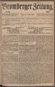 Bromberger Zeitung, 1877, nr 73