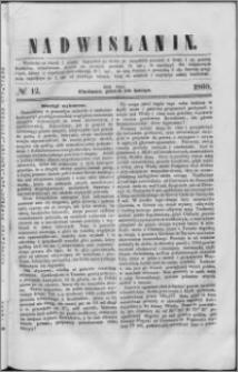 Nadwiślanin, 1860.02.10 R. 11 nr 12