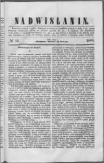 Nadwiślanin, 1860.02.14 R. 11 nr 13