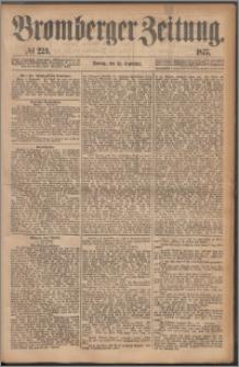 Bromberger Zeitung, 1877, nr 229
