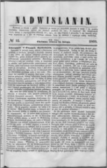 Nadwiślanin, 1860.02.21 R. 11 nr 15