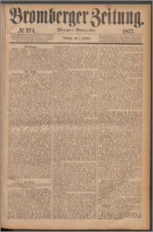 Bromberger Zeitung, 1877, nr 274